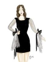 grace dress sketch