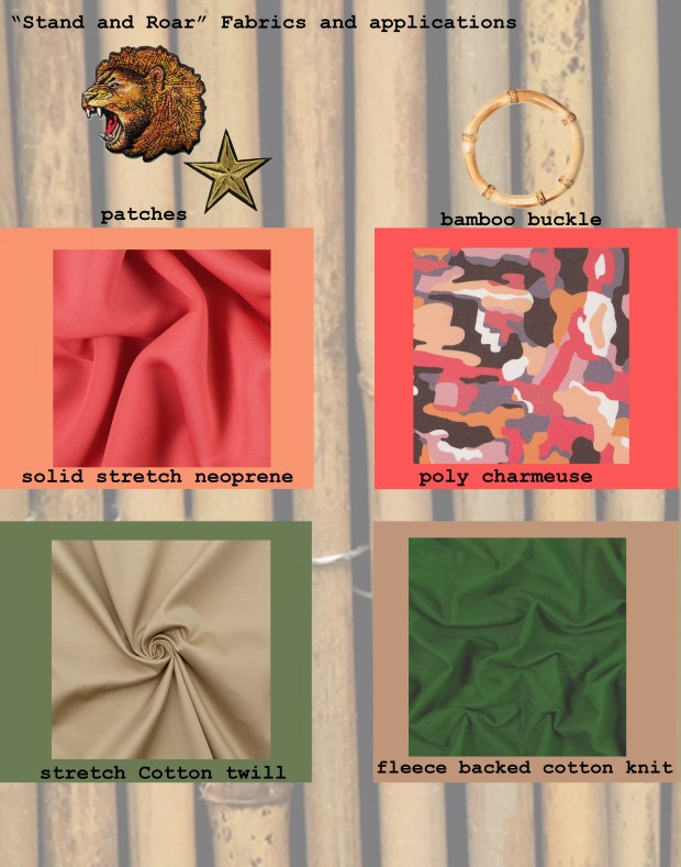JLO collection fabrics