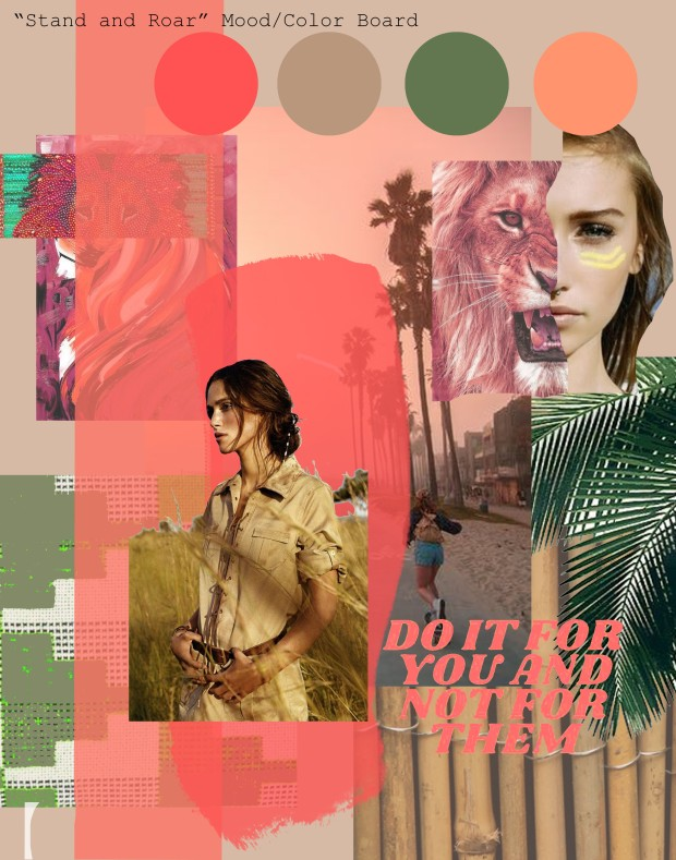 JLO collection mood board