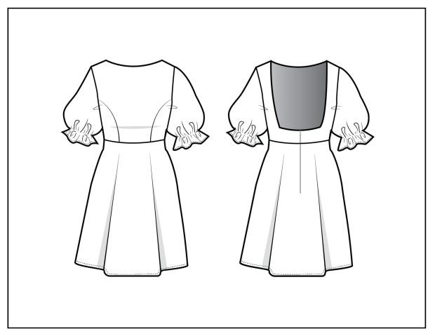 DRESS FLATS